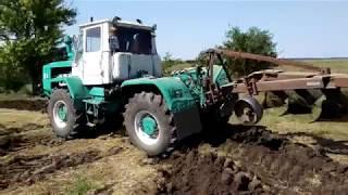 Заканчиваем пахоты на первое поле, Трактор Т-150К /Moldova