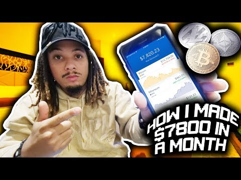 HOW I MADE $7800 IN BITCOIN, LITECOIN, AND ETHERUEM IN A ONLY A MONTH !