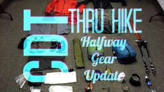 CDT Thru Hike: Halfway Gear Update