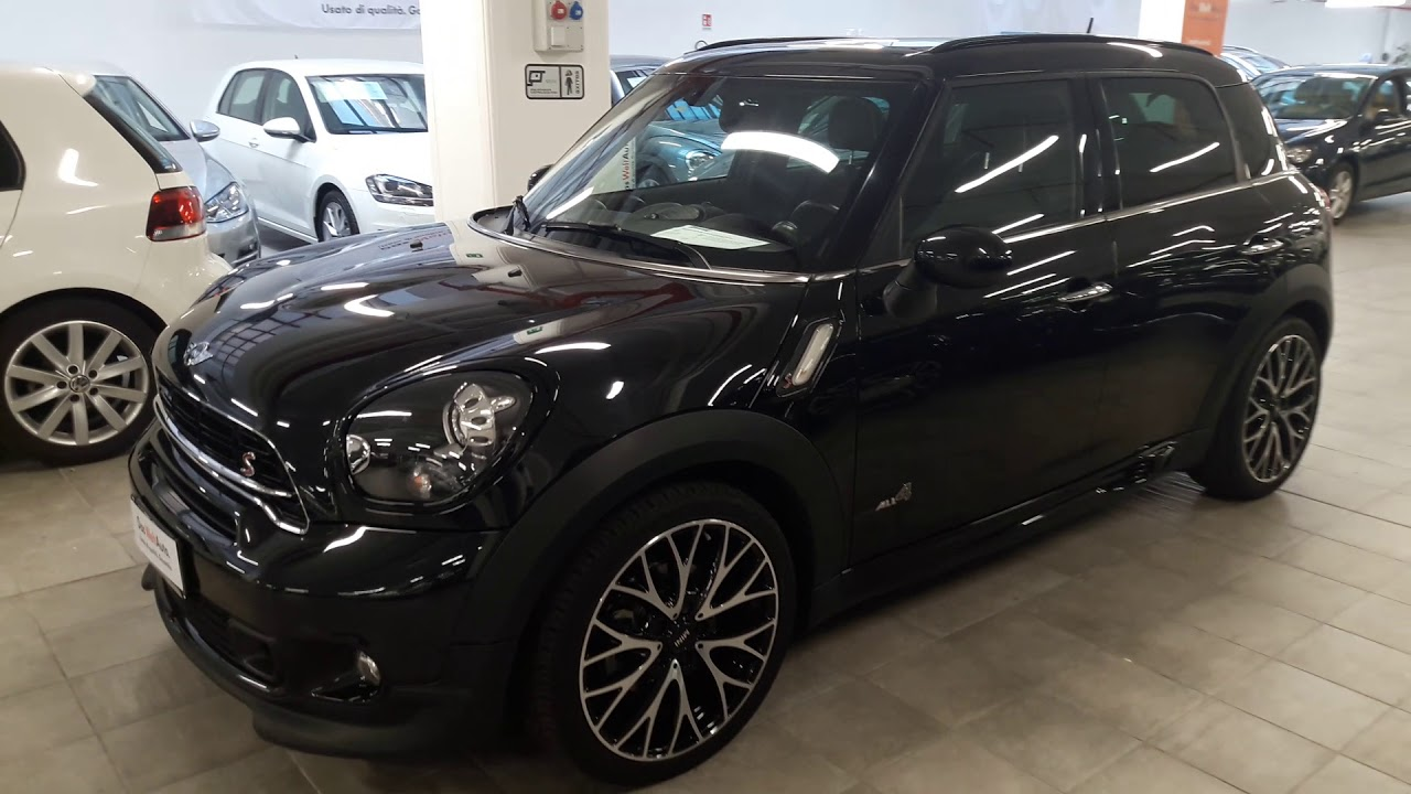mini countryman black edition all 4 sd youtube. Black Bedroom Furniture Sets. Home Design Ideas