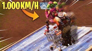 ¡¡ CARRERA DE CARRITOS A 1000 KM EN FORTNITE !! 😂 FORTNITE: BATTLE ROYALE