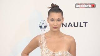 Bella Hadid, Nicki Minaj, David Beckham amfAR Gala Cannes 2017 Arrivals
