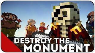 Minecraft Mini-Game - DESTROY THE MONUMENT - NAJLEPSZA TAKTYKA? + KONKURS NA 350 ZŁ [MCLOBBY.PL]