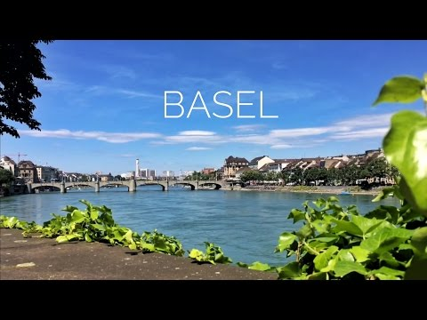 Switzerland - Basel - Beautiful city on the Rhine