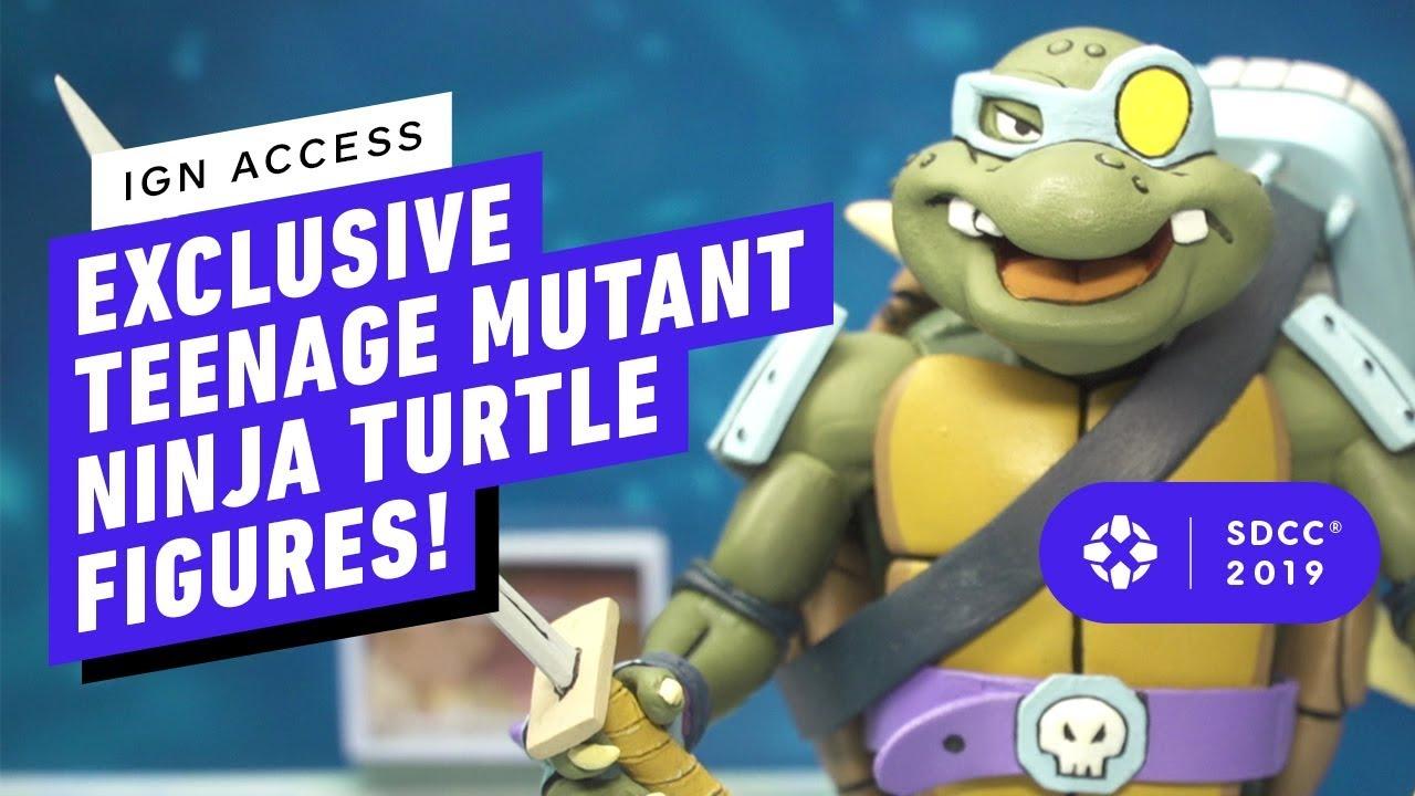 Die coolsten Retro Teenage Mutant Ninja Turtles Actionfiguren! + video