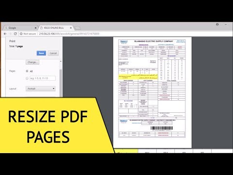 How To Reduce PDF Page Size For Printing
