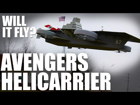 Flite Test | Will It Fly? - Avengers Helicarrier