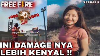 Download lagu CANTIK SEKALI !! TIK TOK FREE FIRE NAMBAH DAMAGE !! JEDAG JEDUG EDITOR BERKELAS #REACTION