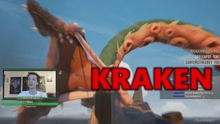 [Sea of Thieves] Stream Highlights #7 - Our first Kraken