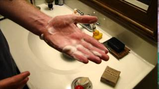 Call For Help! Help me lather a shaving soap..