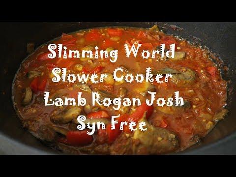 Slimming World Slow Cooker Lamb Rogan Josh | SYN FREE