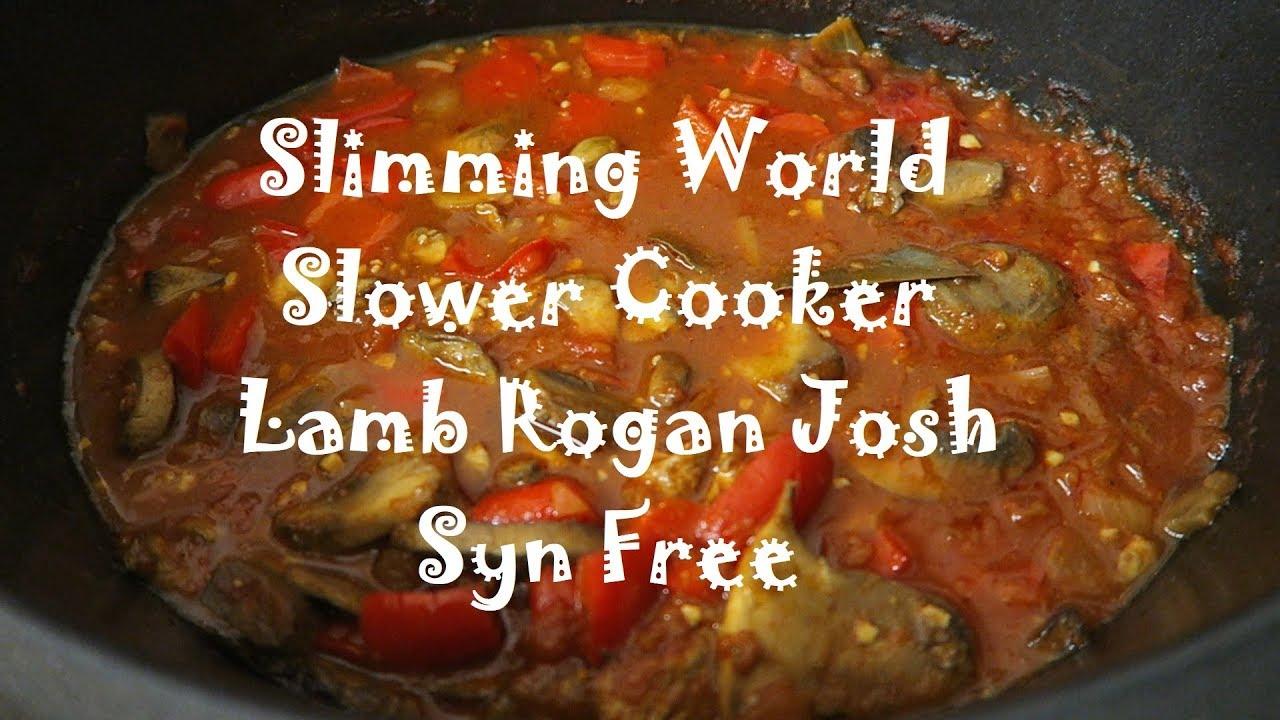 Slimming World Slow Cooker Lamb Rogan Josh Syn Free
