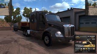 American Truck Simulator Episode 37 Tank to Sacramento, CA