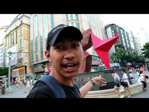 vlog jalan di kota liuzhou 我视频的在柳州市