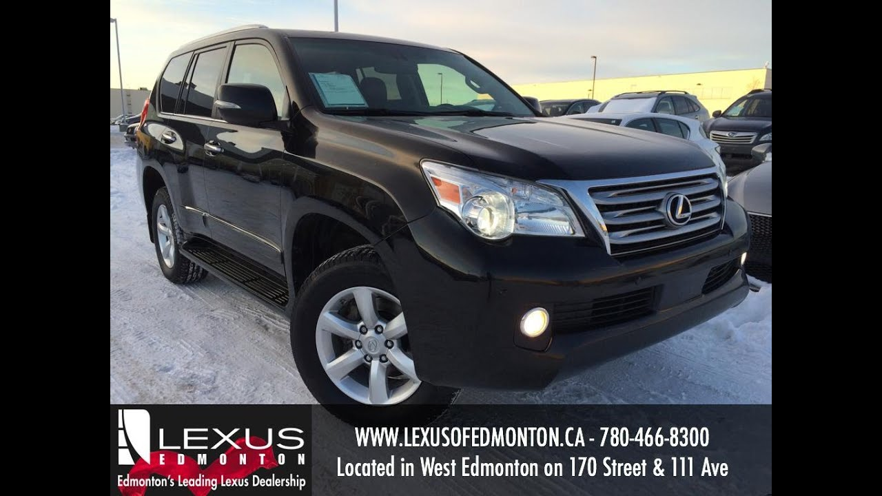 Beautiful Used Black 2012 Lexus GX 460 4WD Premium Package Review | Calgary Alberta