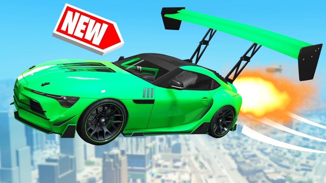 *NEW* $5,000,000 FLYING CAR In GTA 5! (DLC)