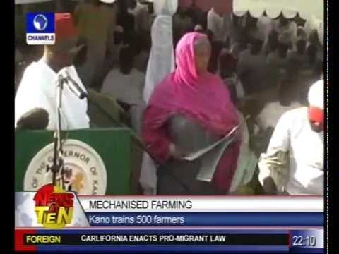 Mechanised Farming:Kano hopes to attain food security