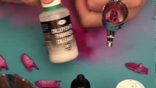 How to thin down paint for airbrushing? Buypainted Citadel Paints Vallejo Game Color