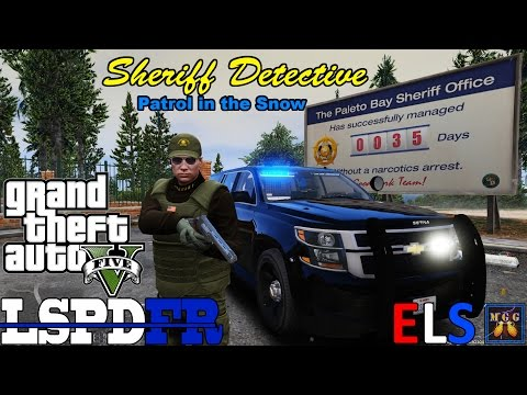 County Sheriff Detective Snow Patrol GTA 5 LSPDFR Episode 106