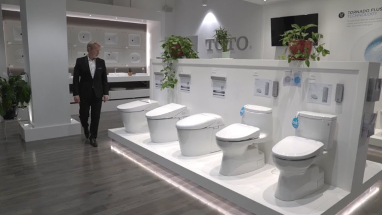 TOTO Celebrates 100 Years of Innovation : bathroom-innovation - designwebi.com