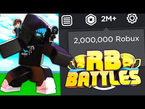 I WON THE RB BATTLES CHAMPIONSHIP (2 MILLION ROBUX) Roblox