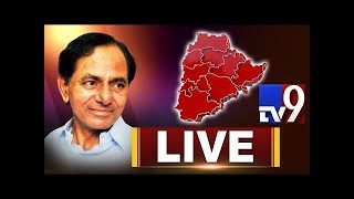 KCR Press Meet LIVE || KCR announces TRS Manifesto || TRS Party Election Manifesto 2018 - TV9