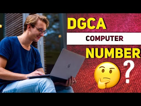 DGCA Computer Number How To Apply | Latest Procedure Explained