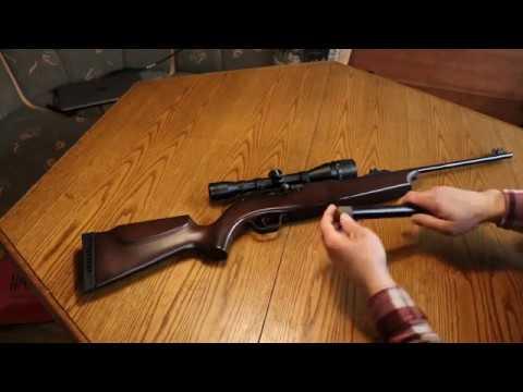 CO 2 Gewehr Hämmerli 850 Air Magnum - YouTube