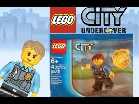 LEGO City Undercover Chase McCain Minifigure Review - YouTube