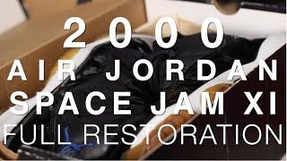 2000 Air Jordan Space Jam XI Full Restoration