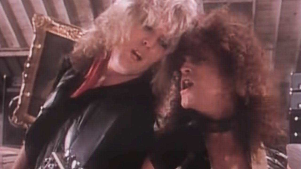 RATT - Round And Round (Official Music Video)