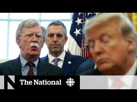 Trump fires John Bolton as his national security adviser