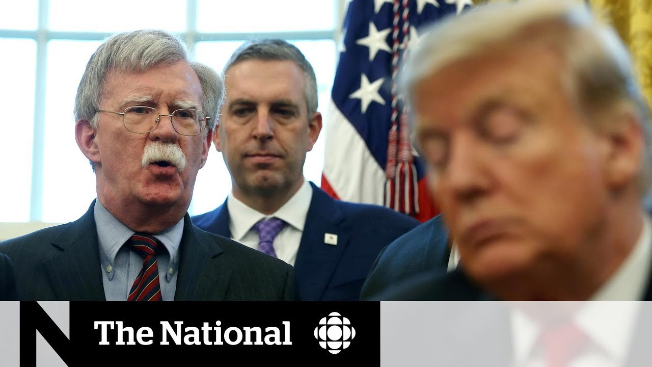 Download Trump fires John Bolton as his national security adviser