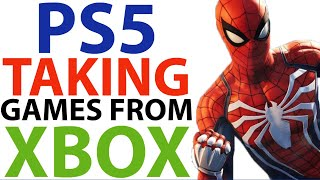 Sony Ps5 TAKING Games Away From Xbox Series X | Xbox Series X VS Ps5 | Ps5 & Xbox News