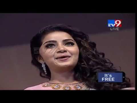 Anupama Parameswaran beautiful entry    Vunnadhi Okate Zindagi Audio Launch - TV9 Trending