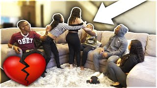 "vuclip BREAKING UP WITH GIRLFRIEND PRANK IN FRONT OF ""THE PRINCE FAMILY & CARMEN & COREY"""