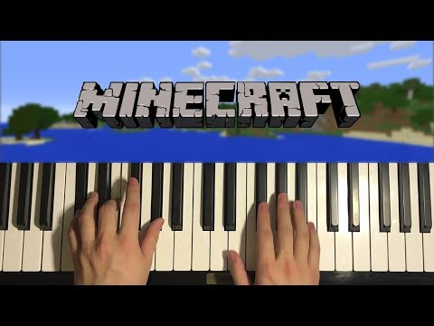 HOW TO PLAY – Minecraft Theme – Calm 1 (Piano Tutorial Lesson)