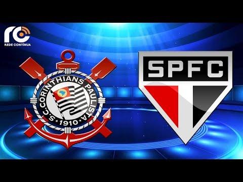 Resultado de imagem para AO VIVO - São Paulo x Corinthians - Paulistão - Rede Contínua