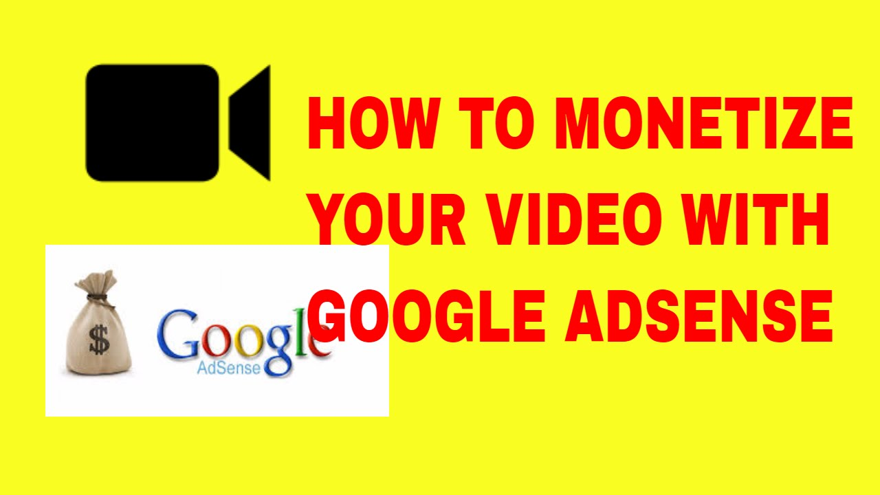 how to add a youtube to your google adsense