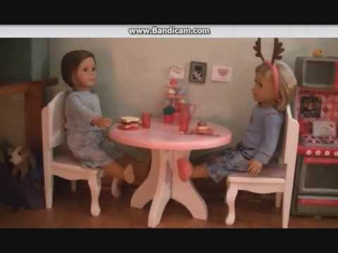 American Girl Doll Table & Chairs Review!