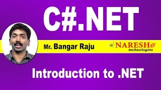 C#.NET Tutorial Videos | Mr. Bangar Raju