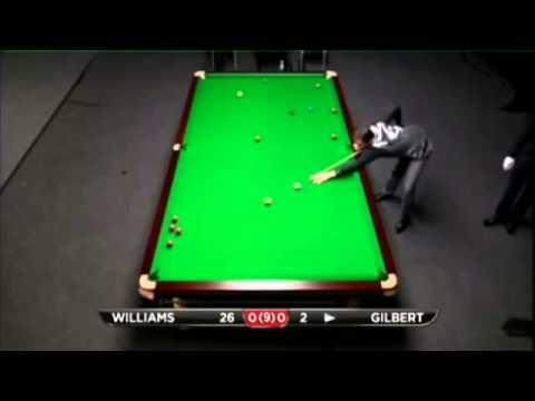 Mark Williams - David Gilbert (Frame 1) Snooker Shanghai Masters Qualifiers 2013 - Round 4