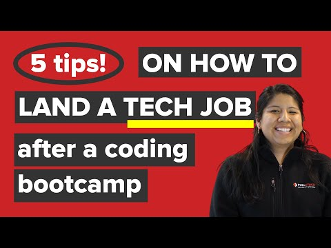 5 Tips On How To Land A Tech Job After A Coding Bootcamp