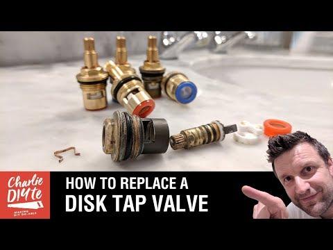 How to Repair or Replace a Quarter Turn Ceramic Disk Tap Valve