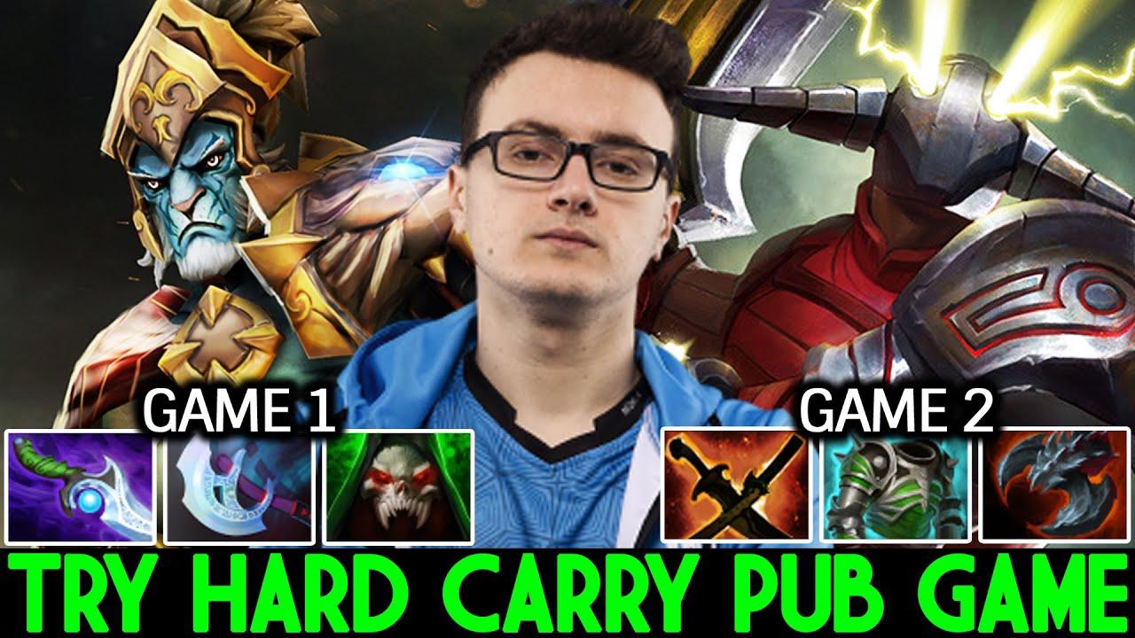 MIRACLE Phantom Lancer & Sven - Very Try Hard Carry Pub Game Dota 2