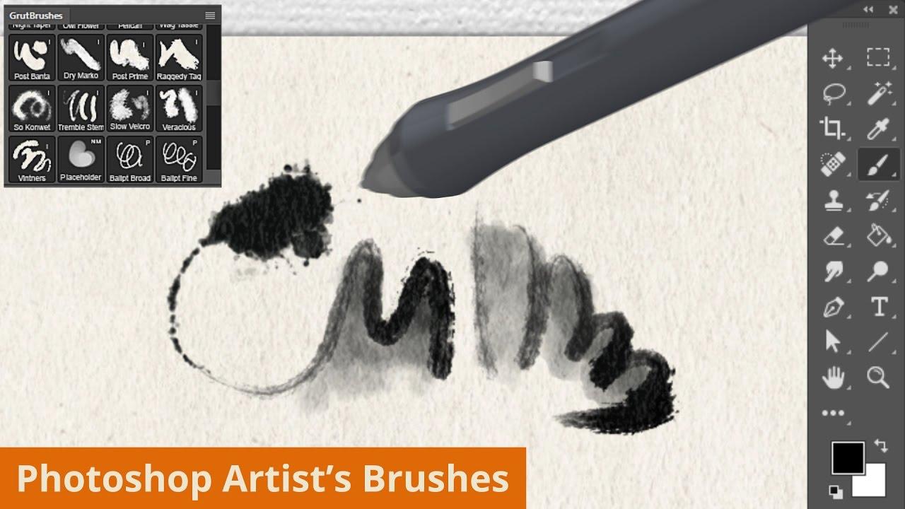 GrutBrushes Art Brushes Complete –   Photoshop …