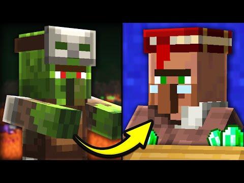 Minecraft Villager Zombie Converter: Cheap Trades!