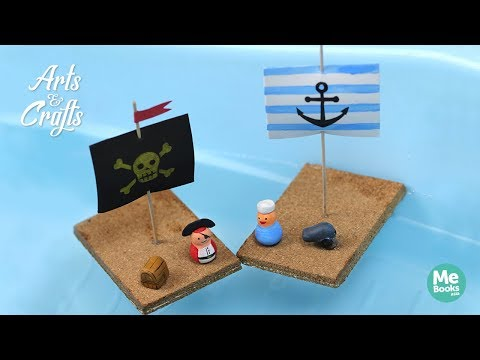 Arts & Crafts by Me Books Asia: DIY Cork Boat
