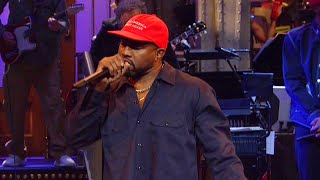 Behind the Scenes as 'SNL' Audience Stunned by Kanye West's Bizarre Rant
