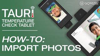TAURI - How to import photos into TAURI